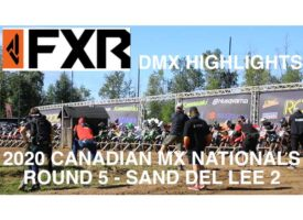 Video | Sand Del Lee 2 | DMX Canadian Motocross Nationals Highlights | FXR