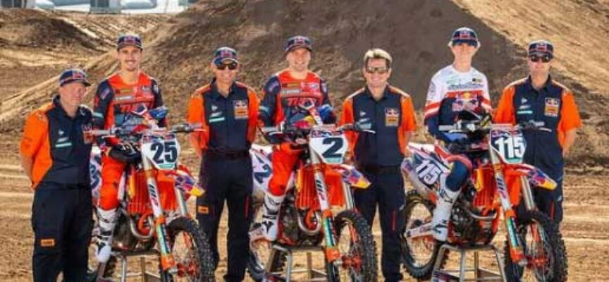 Red Bull KTM Factory Racing Announces 3-Rider Line-up for 2021 SX and MX