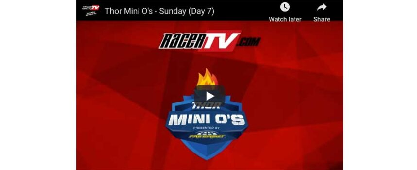 Watch the Final Day of the 49th Mini O's Live