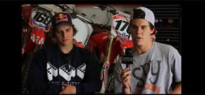 #TBT | Tyler Medaglia and Blake Savage Practicing on Cole Thompson's SX Track