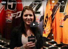 Video | Christmas Wish List from the 2012 Red Bull Fox KTM Intro Party
