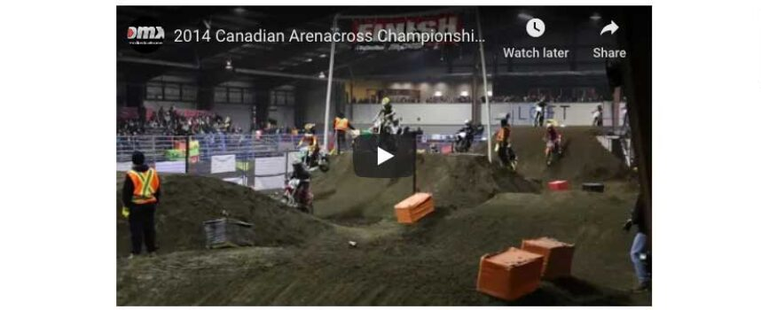 TBT | 2014 FWM Arenacross Supermini Final | Gibbs, Gerber, Piccolo