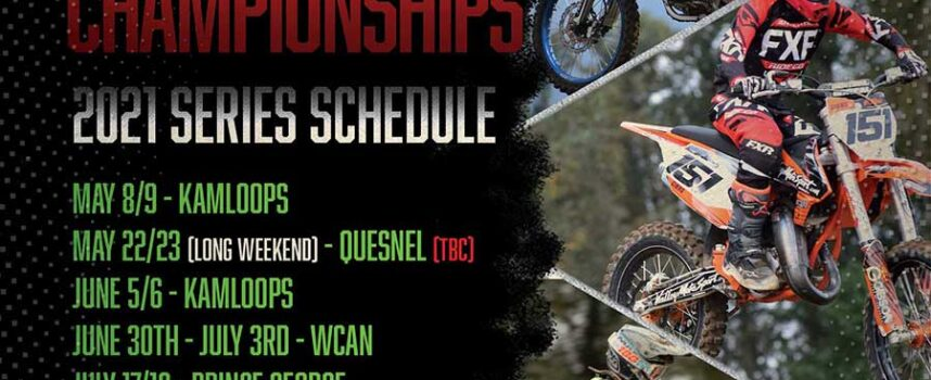2021 FWM BC MX Championships Schedule Announced