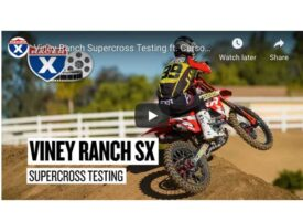 Video | SX Riders Testing at Viney Ranch