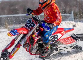 Sam Gaynor Talks about His First Snow Bike Race and 2021 250 Class