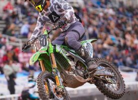 Canadian Team PRMX Sees All 4 Riders Make Mains at SLC SX #1