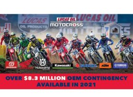 Manufacturer Contingency Surpasses $8.3 Million of Support for 2021 Lucas Oil Pro Motocross Championship