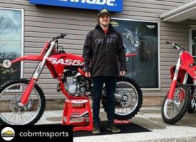 Cob Mountain Sports and Gas Gas Canada Make It Official with Tyler Medaglia