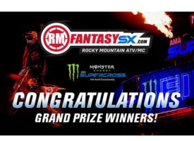 Rocky Mountain ATV/MC Fantasy Supercross Final Standings