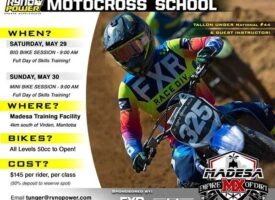 New Date | Tallon Unger Ryno Power Canada MX School