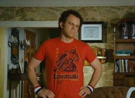 The Story Behind the John C. Riley Motorcycle Tee-Shirt in Step Brothers Movie