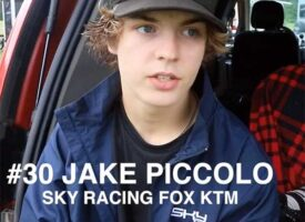 Jake Piccolo Interview after Winning Gopher Dunes | Fox Racing