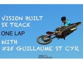 Video | Vision Built SX Track | One Lap with Guillaume St Cyr | KTM Canada